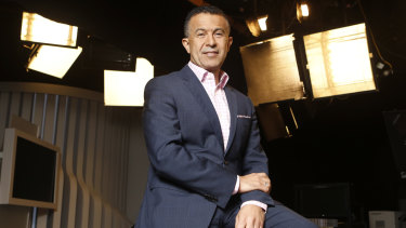 Michael Ebeid has stepped down as managing director of SBS.