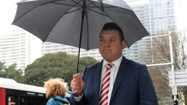 NSW Labor's community relations director Kenrick Cheah.