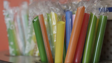 Many nations are now banning plastic straws because of the pollution problem.