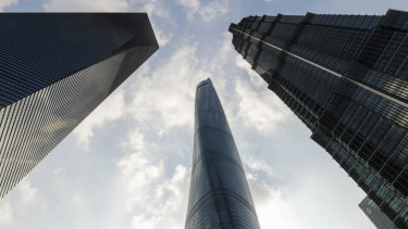 Shanghai's skyscrapers. Property technology turns them into smart buildings.