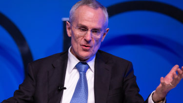 The ACCC chairman has made it clear he wants more work in the financial services area.
