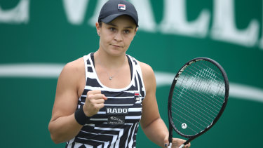 Australia's Ashley Barty is now world No. 1.