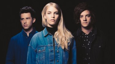 London Grammar's Dan Rothman, Hannah Reid and Dominic 'Dot' Major. The band released their second album in June this year.