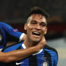 Martinez dazzles as Inter demolish Shakhtar to reach Europa League final