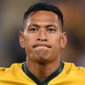 Take-off aborted on one Folau plan