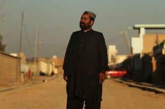 Hammedullah Hammedie, pictured here in 2013, says he will die if he can't flee Afghanistan.