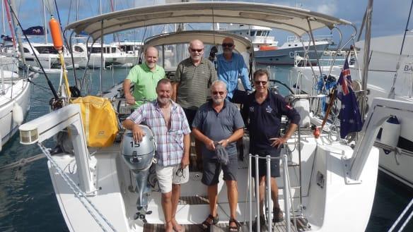 Canberra Ocean Racing Club cross the Atlantic to win unique award