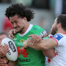 Raiders demolish dire Dragons to sound NRL finals warning