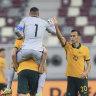 Arnold heaps pressure on Japan after Socceroos blast past Oman