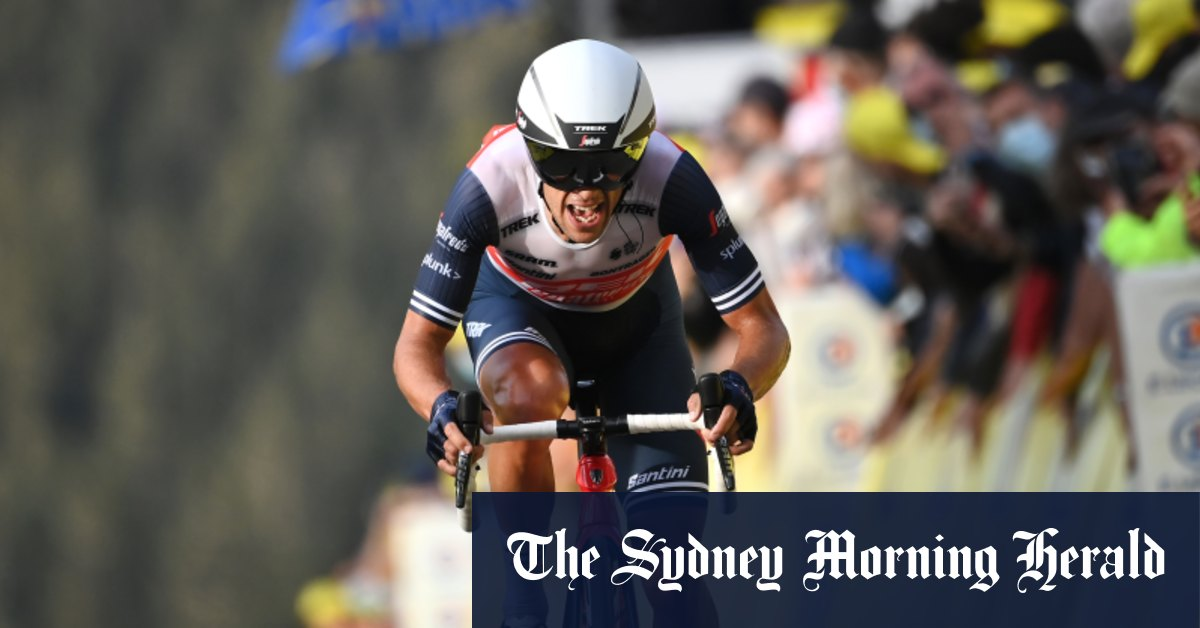 'We feel as if he's won': Podium finish a Tour victory for Porte – Sydney Morning Herald