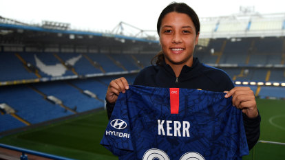 Kerr's club revealed: Superstar signs for English heavyweights Chelsea
