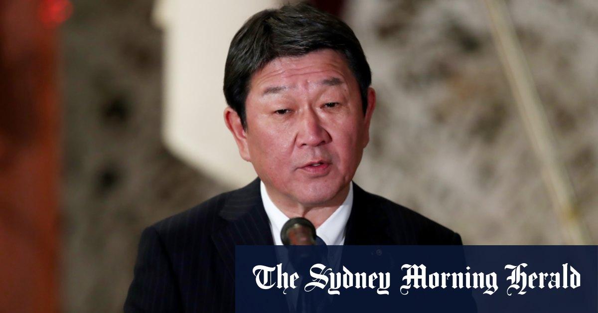 Japan backs Australia against China's economic coercion
