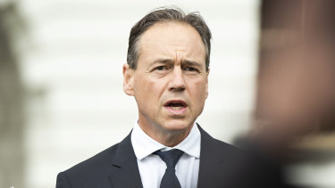 Greg Hunt is weighing health funds' proposed premium increases for 2020.