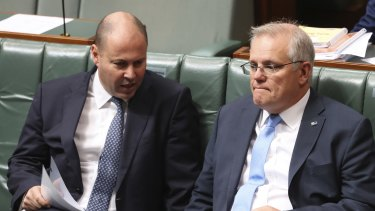 Unwisely, Scott Morrison (right) and Josh Frydenberg chose to rebuff Victoria's initial request for funding help and only devised a policy in the glare of publicity.