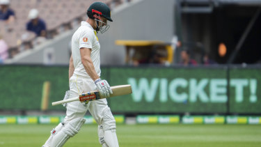 Shaun Marsh had been out of touch in Test cricket.