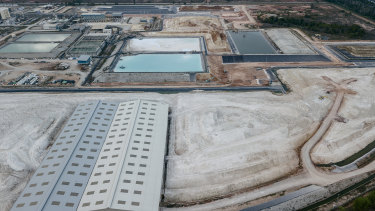 Lynas is looking to WA to build a cracking and leaching facility but has not submitted a formal proposal with the WA EPA.
