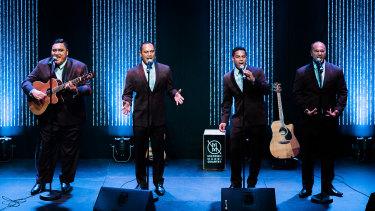 Vocals to die for: Modern Maori Quartet.