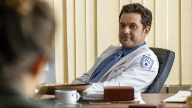Joshua Jackson plays Christopher Duntsch in Dr Death.