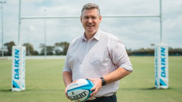 NSW Rugby boss Paul Doorn.