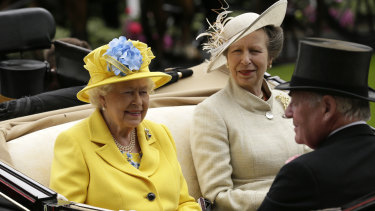 The Queen is, surely, the most camp member of the royal family.