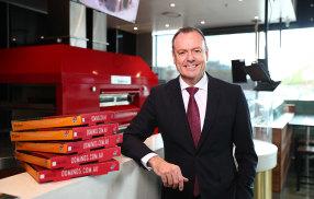 Domino's CEO Don Meij is betting on overseas growth.