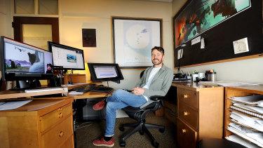 Inside DreamWorks: animator Max Boas.