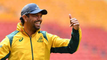 Rotation: Kurtley Beale will be one of several key Wallabies rested throughout the Super Rugby season.