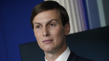 Jared Kushner helped Israel and the UAE normalise diplomatic relations.