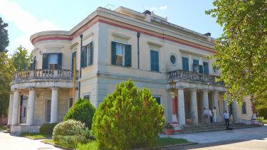 Mon Repos Palace, where Prince Philip was born.