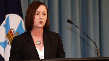 Queensland Attorney-General Yvette D'Ath.