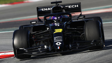 Ricciardo struggled in the Renault initially, and seemed to make more mistakes each time he tried to correct.