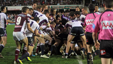 "There will be a replay of the infamous ""Battle of Brookvale"" during the opening round of the 2020 season."