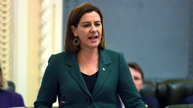 LNP leader Deb Frecklington ruled out any preference deals with other parties before the October 2020 election.