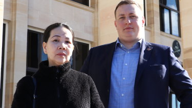 Liberal Democrat MP Aaron Stonehouse has been lobbying for a review of WA's criminal confiscation laws on behalf of Tam Nguyen who faces losing her home because of her husband's crimes.