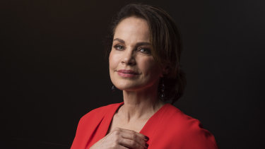 SeaChange star Sigrid Thornton at Channel Nine's Upfronts on Wednesday.