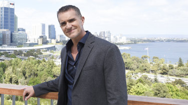 Married at First Sight expert John Aiken in Perth ahead of the show.