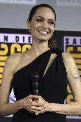 Angelina Jolie is playing Thena in The Eternals.