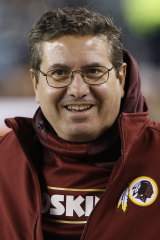 Washington Redskins owner Daniel Snyder.