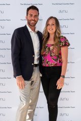 Social scene: Michael and Mia Coombs at the LJ Hooker Avnu launch in Neutral Bay last year.