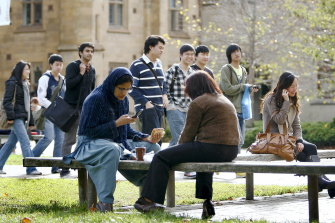 COVID has meant that many young people are missing out on experiencing campus life.