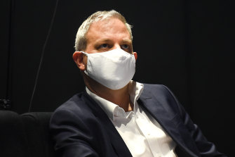 Victoria's Chief Health Officer Brett Sutton said he was very concerned by infection rates among aged care residents.