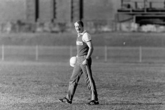 John Northey almost always gave debutants a guaranteed second crack the week after their first game.