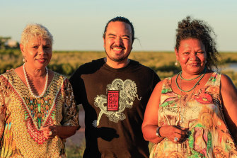 MasterChef's Adam Liaw will learn some bush cooking skills from Broome sisters Ali and Mitch Torres on Kriol Kitchen season 4, set to launch on SBS NITV this month.