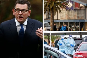 'No alternative': Victoria to go into seven-day snap lockdown as mystery cases emerge