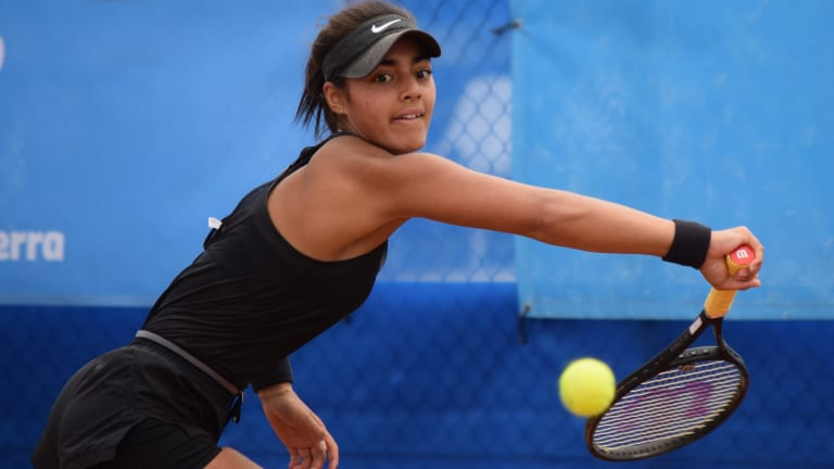 Annerly Poulos has set her sights on the junior grand slams next year.