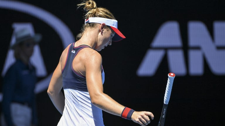 Olivia Rogowska is out of US Open qualifying.
