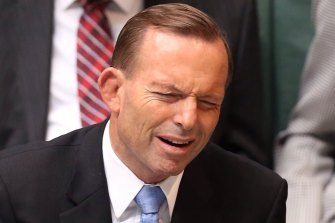 Tony Abbott said he had the people's mandate to lead, but as prime minister ignored most of his promises to the people.