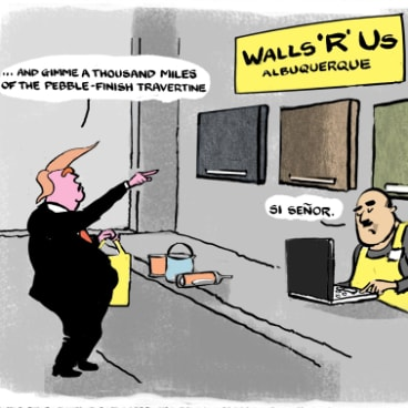 Could the wall be manufactured by Ikea?