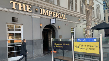 Warner Bros have told the Imperial Hotel that the magic can no longer happen at the pub without permission.