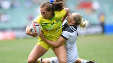 Quiet achiever: Evania Pelite was voted women's Sevens Player of the Year.